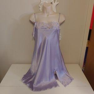 Victoria's Secret lavender chemise nightie